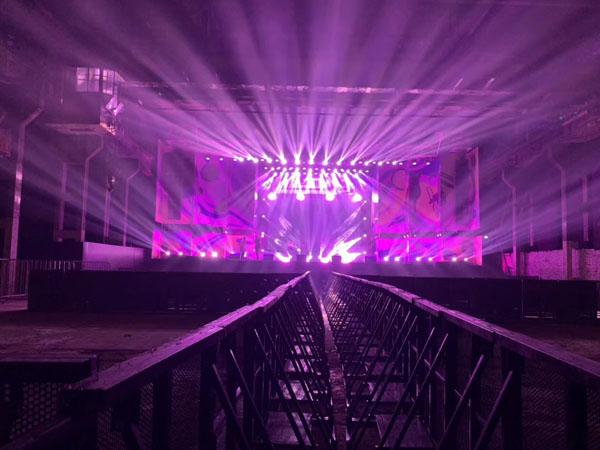 杭州MDSK音乐节舞台灯光租赁案例