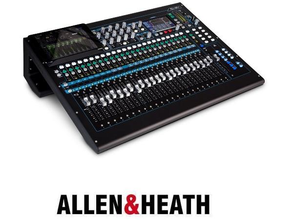数字调音台ALLEN&HEATH QU-24