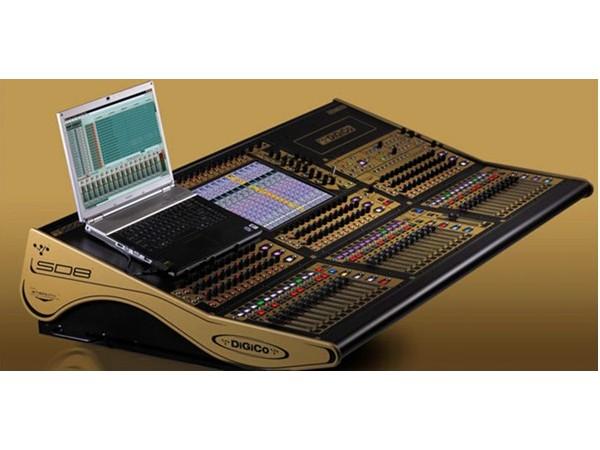 数字调音台DiGiCo SD8