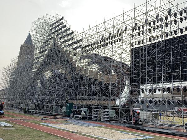 宁波杭州湾模特大赛国际总决赛雷亚架舞台租赁