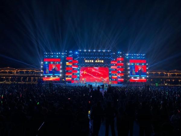 龙游红木小镇绿色中国行舞台设备租赁成功案例