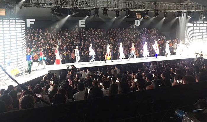 唐狮2018夏季新品服饰发布会舞台租赁案例