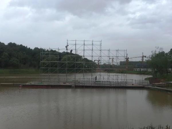 水上舞台搭建