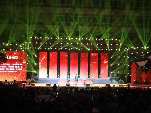 宁波舞台背景板搭建