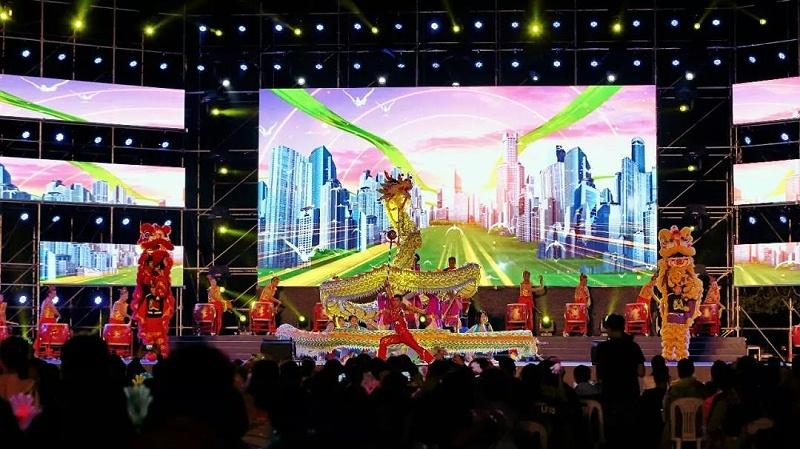 庆祝骆驼文联合会成立10周年舞台灯光租赁案例