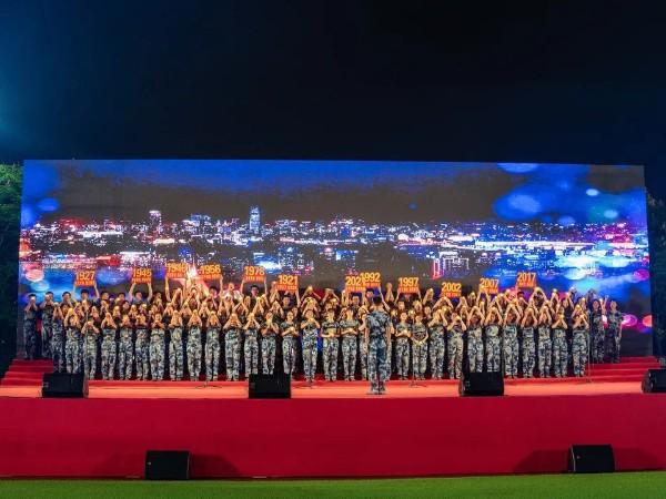 工程学院2021级新生红歌大赛宁波舞台租赁成功案例