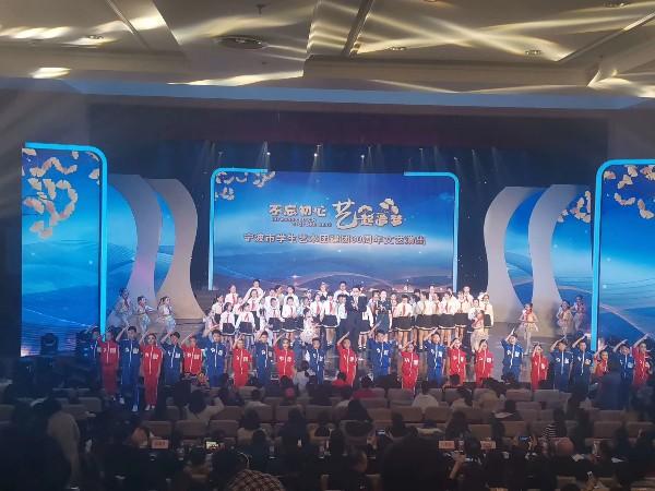宁波青少年宫学生汇演舞台灯光租赁案例