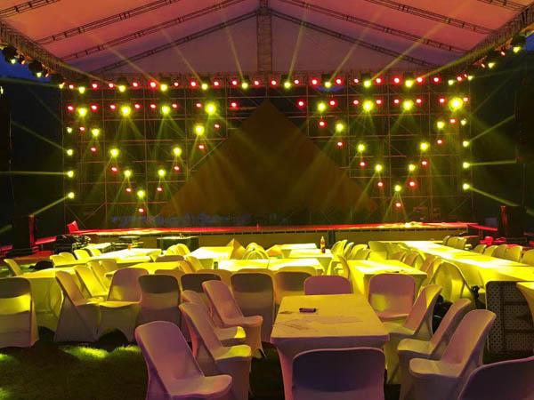 大型活动的舞台灯光租赁价格影响因素?