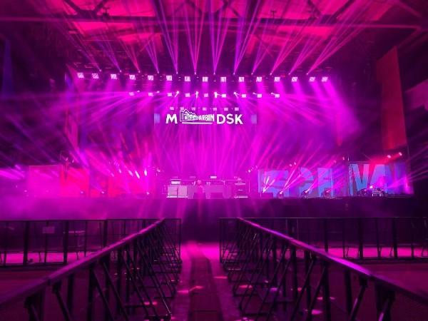 M-DSK音乐节杭州演出灯光租赁成功案例
